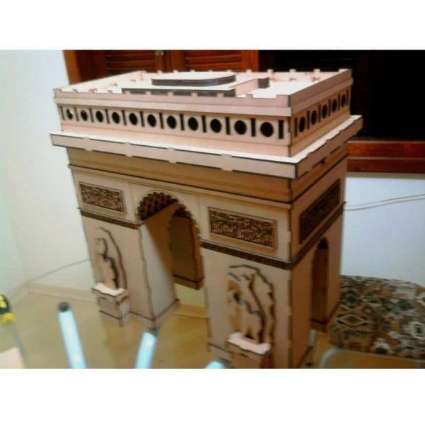 Макет Триумфальной арки