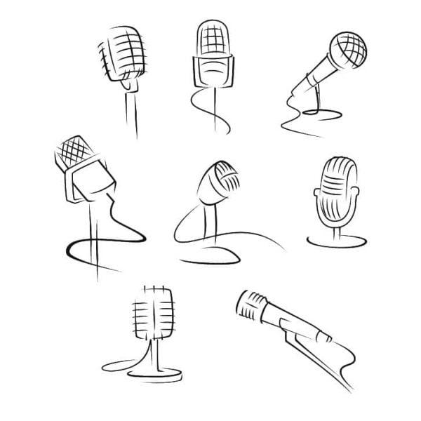 Микрофоны линиями