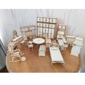 Набор кукольной мебели