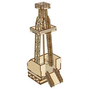 Макет нефтяной вышки