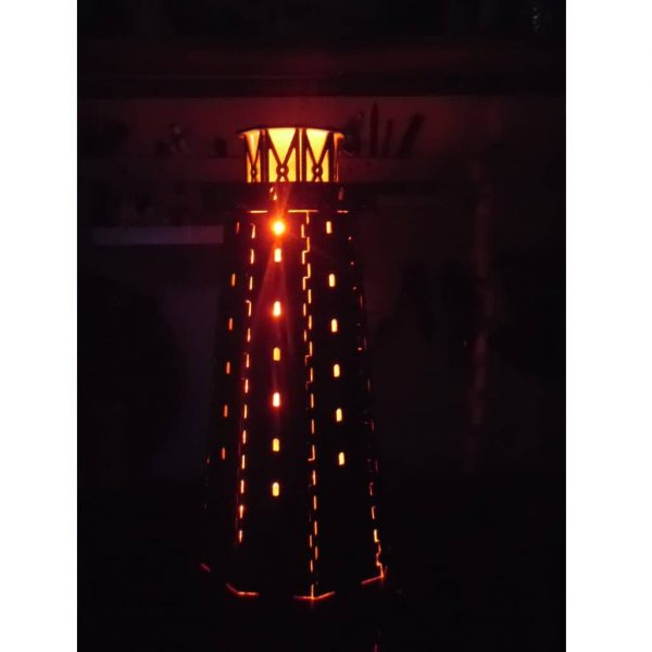 Макет ночной лампы маяк