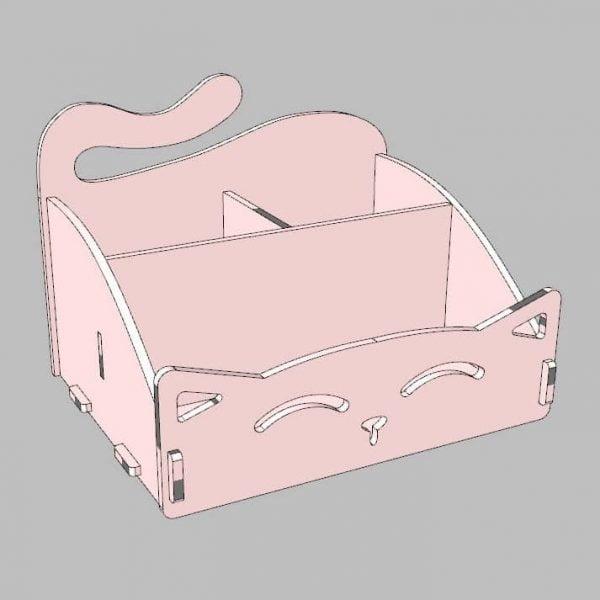 Макет органайзера кота