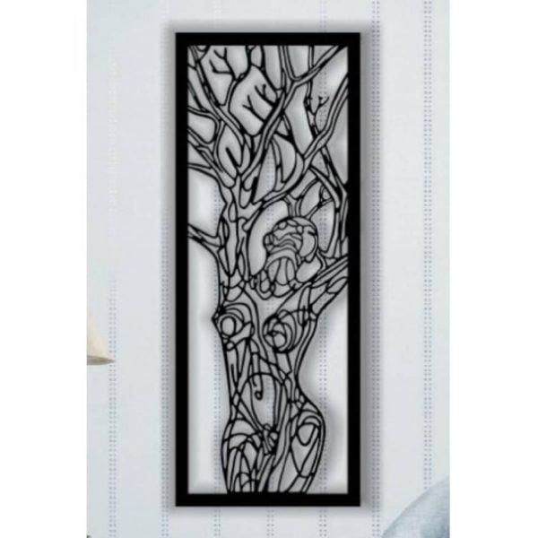 Макет панно человек - дерево