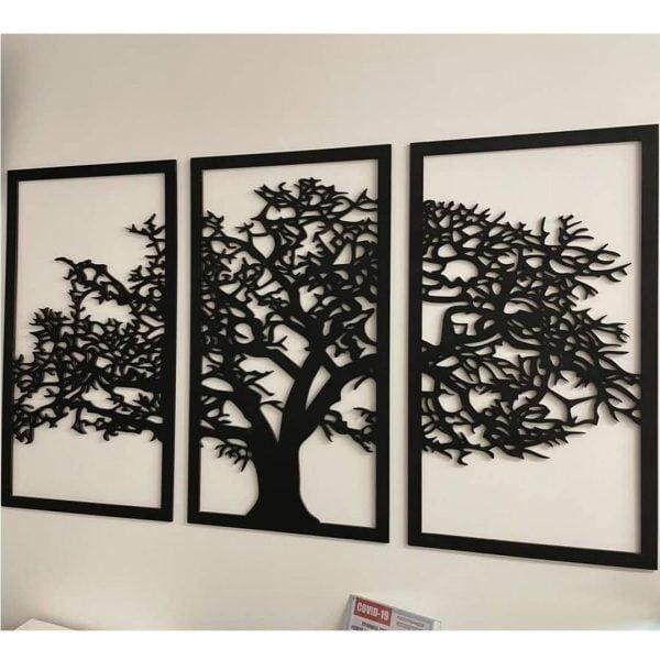 Тройное панно Дерево макет