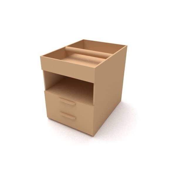 Макет переносного ящика