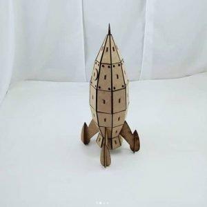 Макет игрушки ракеты