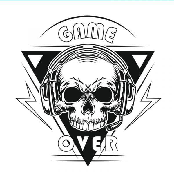 Рисунок game over