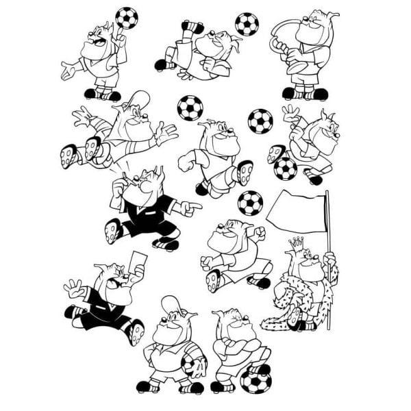 Собаки футболисты
