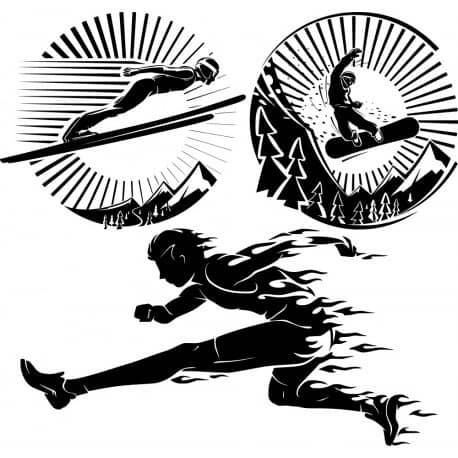 Спортсмены для гравировки