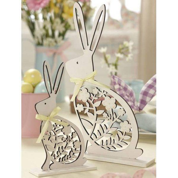 Макет статуэтки кролика