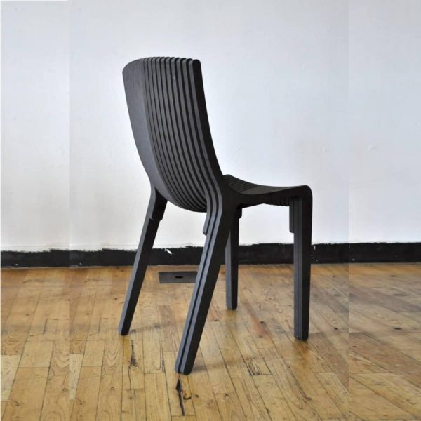 Макет стула со спинкой