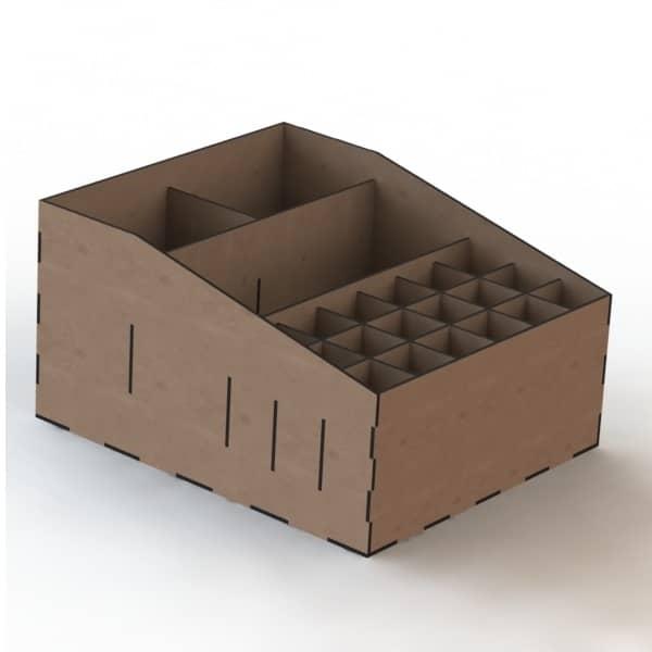 Ящик с ячейками