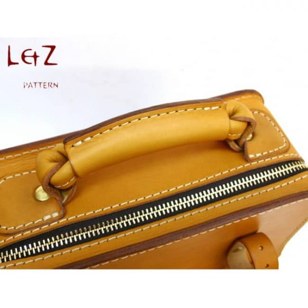 Выкройка мужской сумки от LetZ