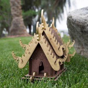 Домик пагода макет
