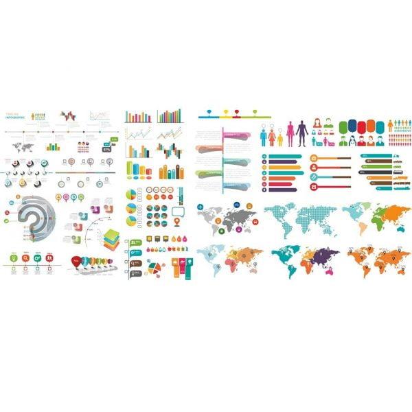 Инфографика в векторе