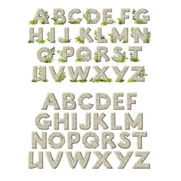 Каменный алфавит
