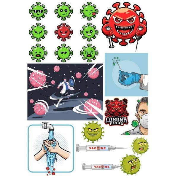 Картинки вирусов