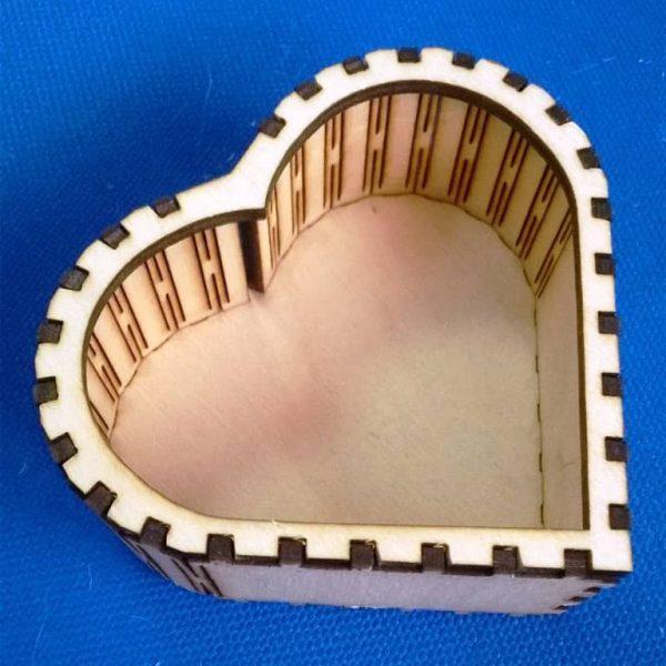 Макет шкатулки сердца 7