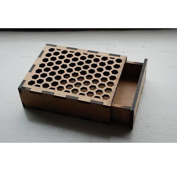 Макет коробки для карт