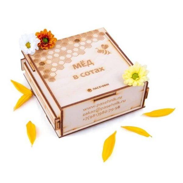 Макет коробки для мёда