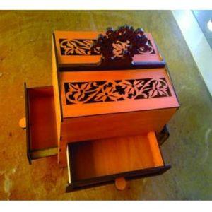 Коробка кэшо макет