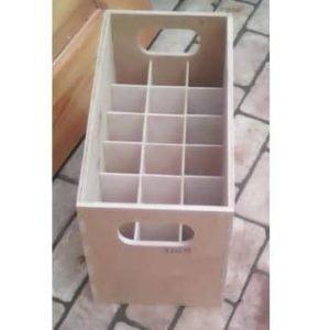 Макет коробки с 18 секциями
