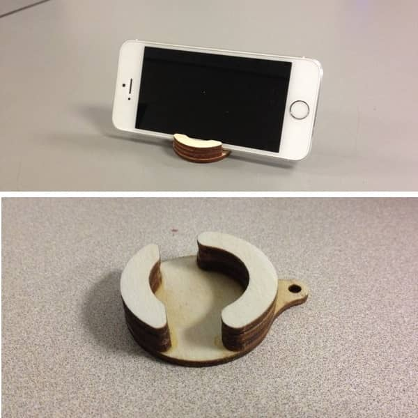 Круглая подставка для телефона