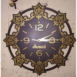 Макет круглых часов в 2 слоя
