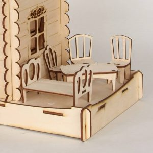Комплект мебели для кукол макет