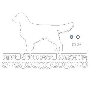 Медальница для собаки