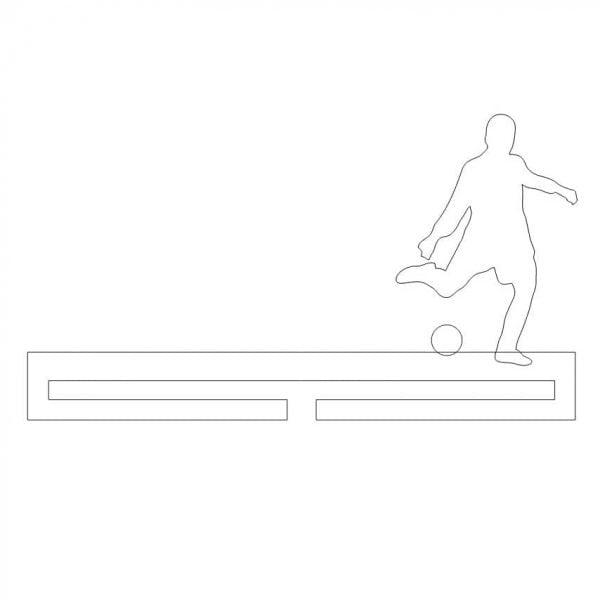 Медальница футбол 4