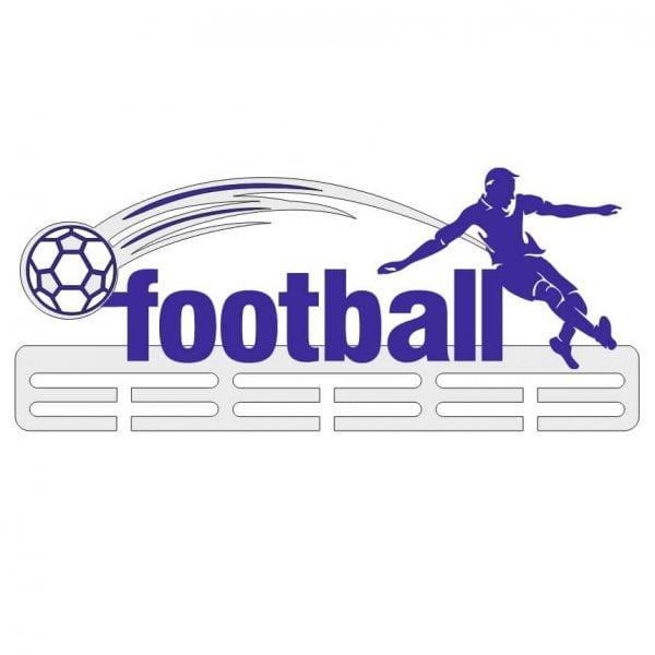 Макет медальницы футбол