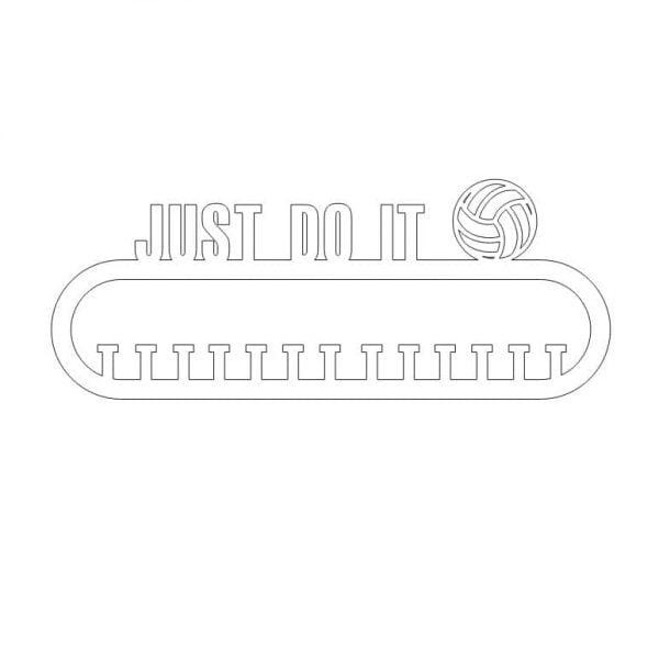 Макет медальницы волейбол 6 мм