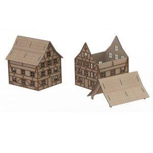 Модель декоративного дома