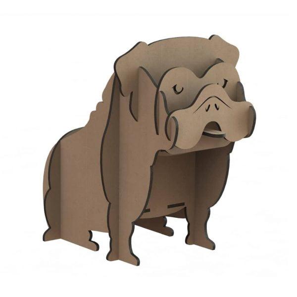 Макет органайзера собака бульдог