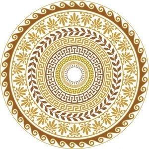 Орнамент грецкий орех