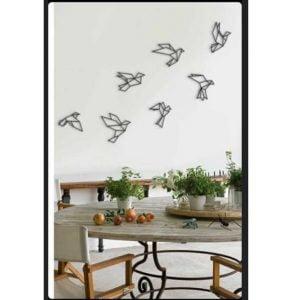 Панно стая птичек