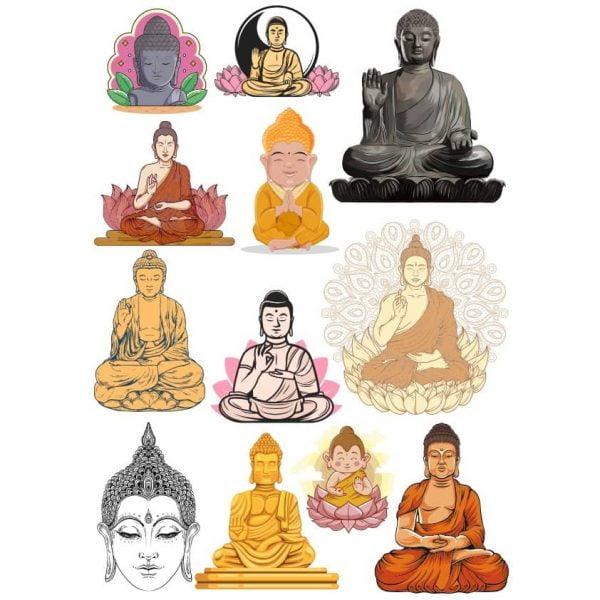 Рисунки Будды