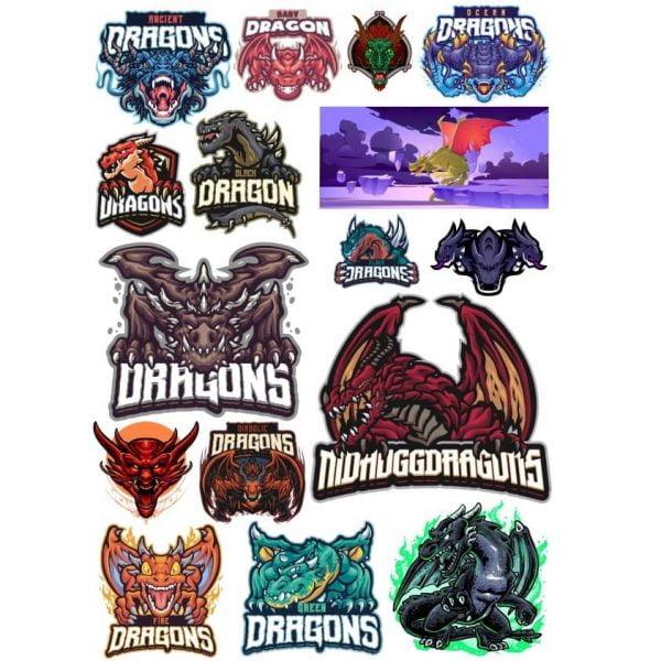 Рисунки дракона