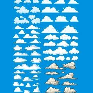 Рисунки облаков 2