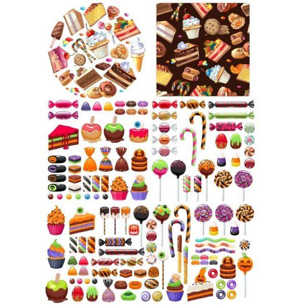 Рисунки сладостей