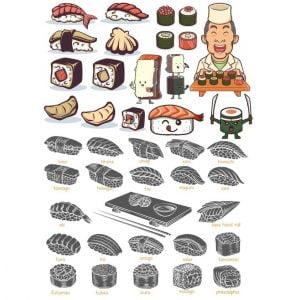 Рисунки суши