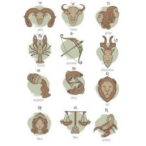 Рисунки знаков зодиака