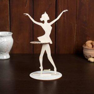 Макет салфетницы балерины