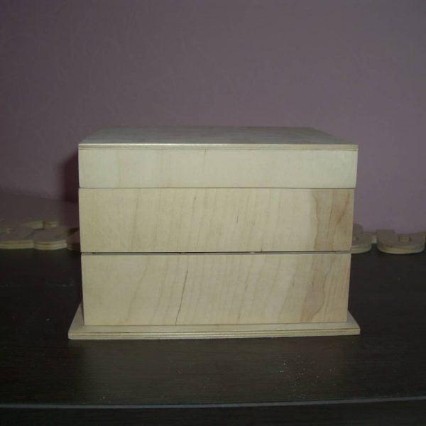 Шкатулка - органайзер макет