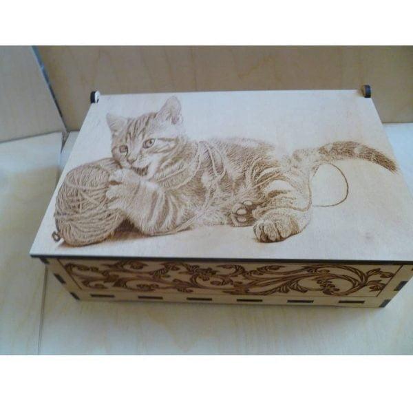 Шкатулка с котом