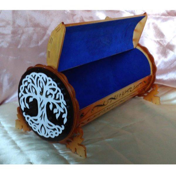 Шкатулка труба макет