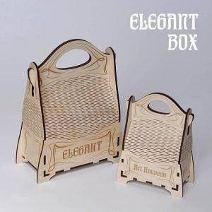 Макет сумки из фанеры