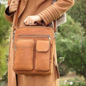 Выкройка сумки - портфеля