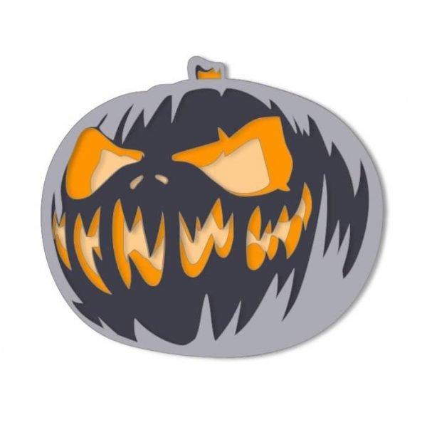 Тыква на Хэллоуин рисунок